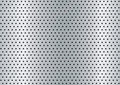 Brushed metal hole background Royalty Free Stock Image