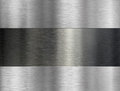 Brushed metal industrial background Royalty Free Stock Photo