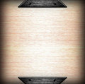 Brushed metal plate template background Royalty Free Stock Photo