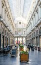 The King`s gallery in the Saint-Hubert Royal Galleries in Brussels, Belgium Royalty Free Stock Photo