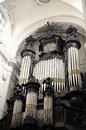 Brussels belgium august organ in notre dame du finistere church on august in brussels this church was built in the beginning of Stock Images