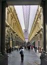 Saint-Hubert Royal Galleries in Brussels, Belgium Royalty Free Stock Photo