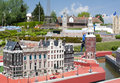 Brussels belgium may miniatures at the park mini europe reproductions of monuments in the european union at a scale amsterdam Royalty Free Stock Image