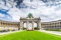 Brussels, Bruxelles, Belgium - Cinquantenaire Royalty Free Stock Photo