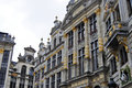 Brussels is the capital of belgium the historic city centre is a prominent world heritage site of unesco Royalty Free Stock Images