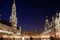 Brussels, Grand Place Royalty Free Stock Photo