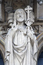 Brussels - Jesus Christ statue from Notre Dame du Royalty Free Stock Photography