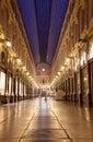 Brussels, Royal Galleries of Saint Hubert Royalty Free Stock Photo