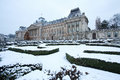 Brussels royal palace in belgium in winter Stock Photos