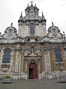 Brussels - Saint John the Baptist church Royalty Free Stock Image