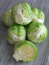 Brussels sprouts image of green Royalty Free Stock Photo
