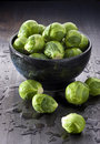 Brussels Sprouts Vegetables Royalty Free Stock Photo