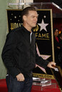 Bryan adams los angeles mar is honored with a star on the hollywood walk of fame at hollywood walk of fame on march in Royalty Free Stock Image