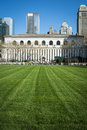 Bryant park lawn new york city library expanse of manhattan Stock Image