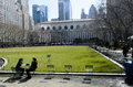 Bryant park manhattan Photographie stock libre de droits