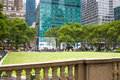 Bryant Park, New York Royaltyfria Bilder