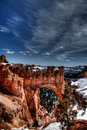 Bryce Canyon Arch Stock Photo