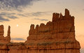 Bryce Canyon moon Royalty Free Stock Photo
