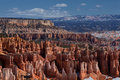 Bryce Canyon Mountains Stock Image