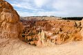 Bryce canyon national park stone formations and hoodoos at Royalty Free Stock Photo