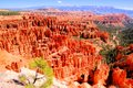 Bryce canyon national park view scenic over utah usa Royalty Free Stock Image