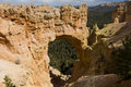 Bryce Canyon Natural Arch Royalty Free Stock Photography