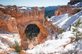 Bryce Canyon - Natural Bridge Stock Photo
