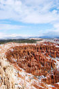 Bryce Canyon Snow Royalty Free Stock Photos