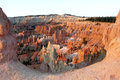 Bryce canyon sunrise utah usa the amphitheatre near featuring hoodoos Stock Image