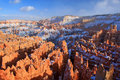 Bryce Canyon At Sunset Stock Photography