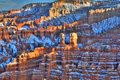 Bryce Canyon At Sunset Stock Images