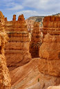 Bryce canyon ut hoodoos utah usa Royalty Free Stock Photos