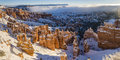 Bryce Canyon Winter Morning Panorama