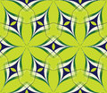 A bstract bright seamless pattern on a green background Stock Images