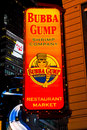 Bubba Gump Shrimp Company, Times Square, NYC Royalty Free Stock Photography