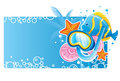 Bubble banner Royalty Free Stock Photo