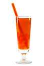 Bubble tea with clipping path Stock Photography