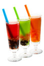 Bubble tea with clipping path Stock Images