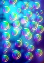 Bubbles background colorful soap abstract Royalty Free Stock Images