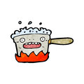 bubbling kitchen pot cartoon