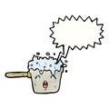bubbling pan cartoon
