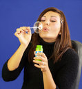 Bubbly Girl Stock Images