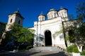 Bucarest radu voda monastery Immagine Stock