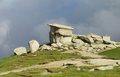 Bucegi mountains in central romania with unusual rock formations sphinx and babele the located south of the city braÈ™ov they are Stock Photo
