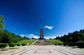Bucharest - Carol Park Mausoleum Royalty Free Stock Photo