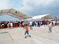 Bucharest international air show  bias the largest in romania takes place in baneasa airport Stock Photo
