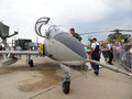 Bucharest international air show  bias the largest in romania takes place in baneasa airport Stock Images