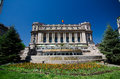 Bucharest national army palace the cercul militar is located in central the building dates to and was built on the site Stock Image