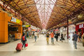 Bucharest north railway station gara de nord romania august on august in romania is the main Stock Image