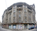 Bucharest old buildings palas restaurant hotel Royalty Free Stock Image